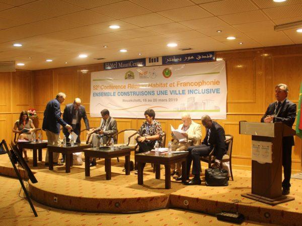 BACID SA / 52e Conférence du Réseau Habitat et Francophonie