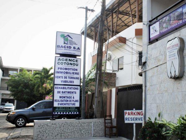 Le Promoteur / Constructeur BACID s'installe à Cotonou