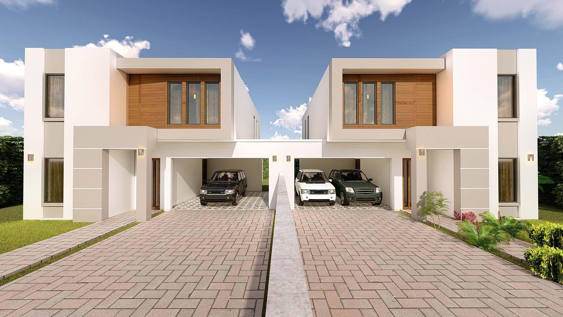 Villa Duplex 4 pièces Jumelée